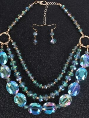 Layered Beads Jewelry Set