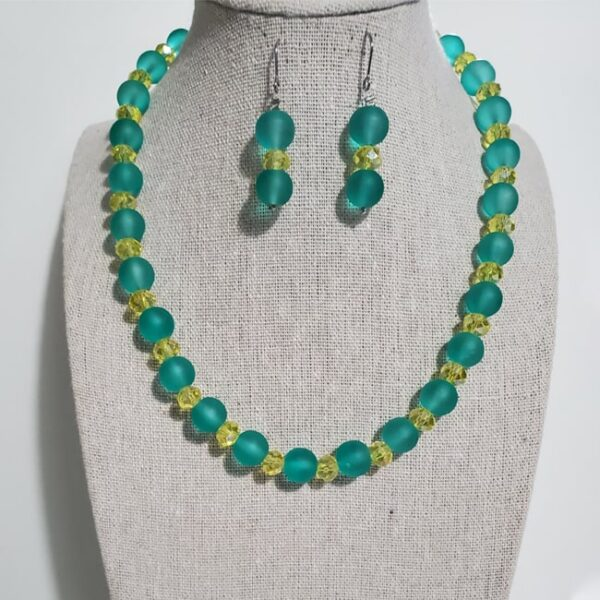 African Dual Colored Jewelry Set