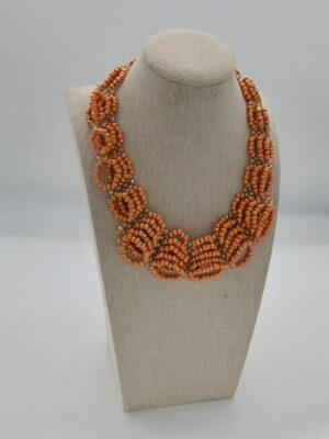 Authentic African Beaded Jewelry Set