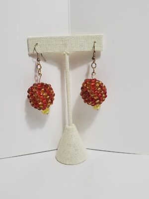 Multicolor Beaded Earrings
