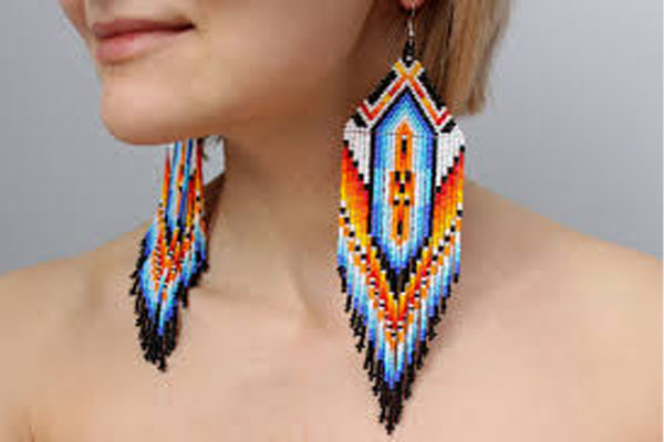 Beaded-Earrings